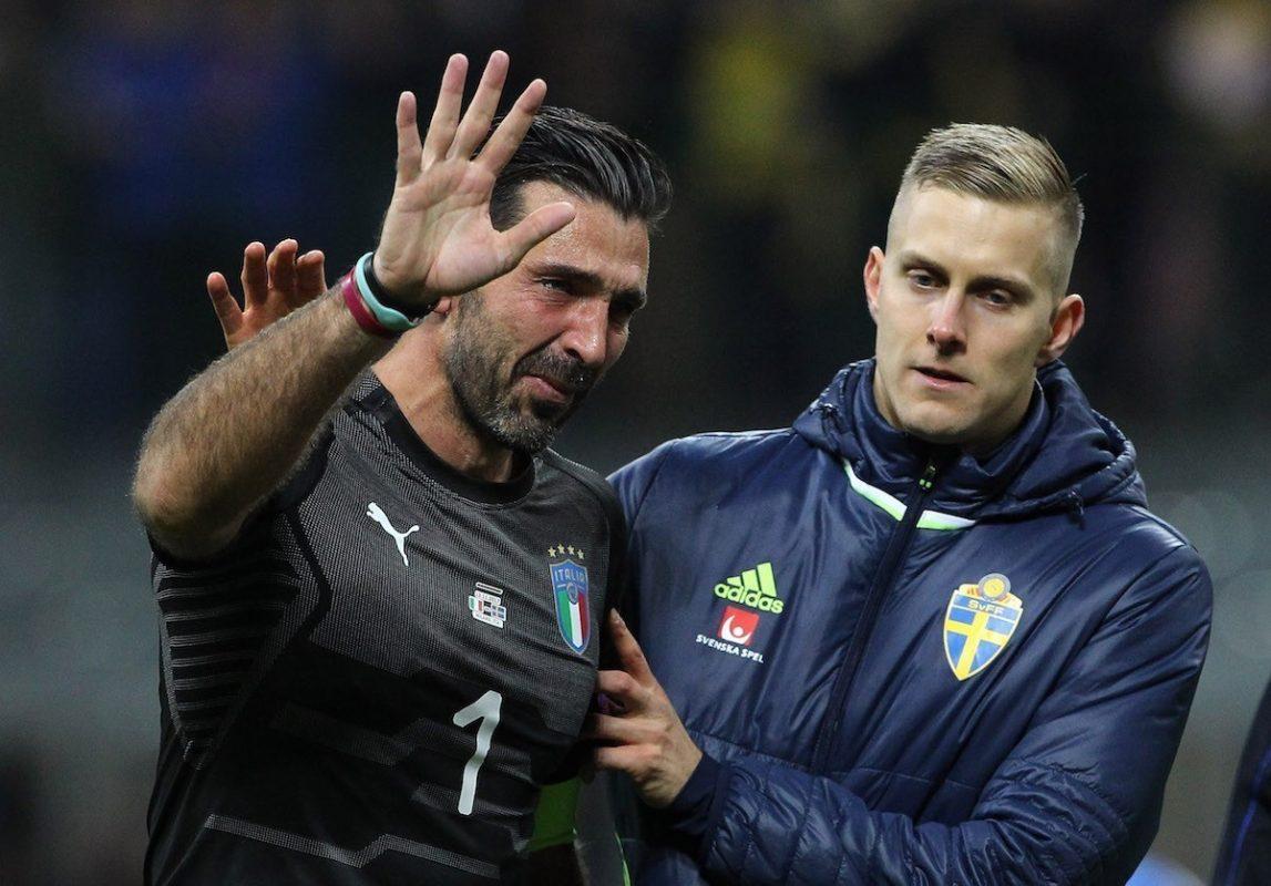 Italy and Juventus goalkeeper Gianluigi Buffon