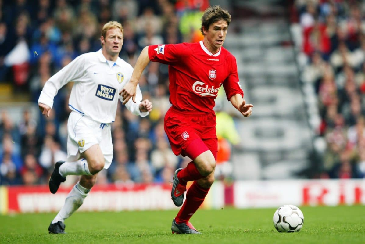 Liverpool winger Harry Kewell