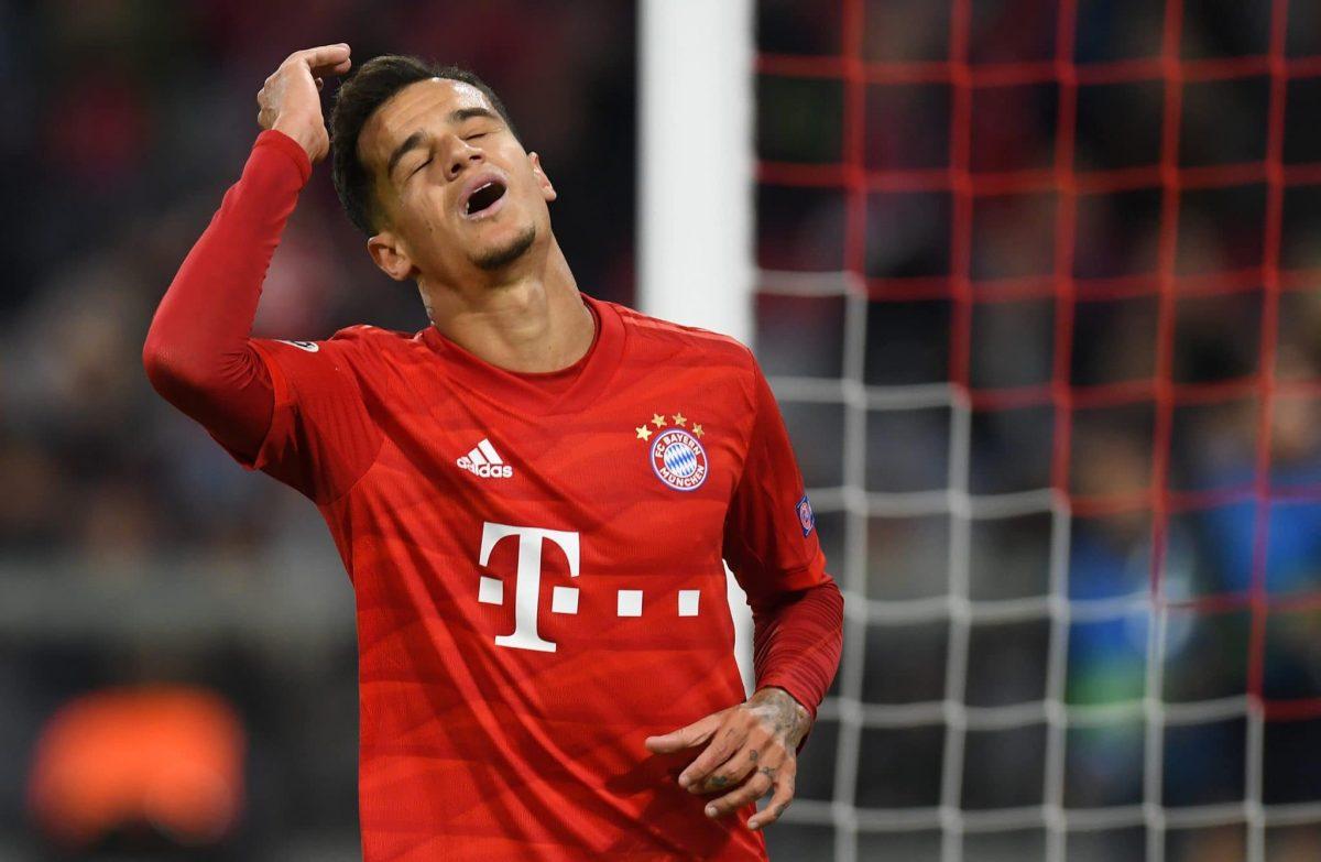 Bayern Munich's Brazilian midfielder Philippe Coutinho