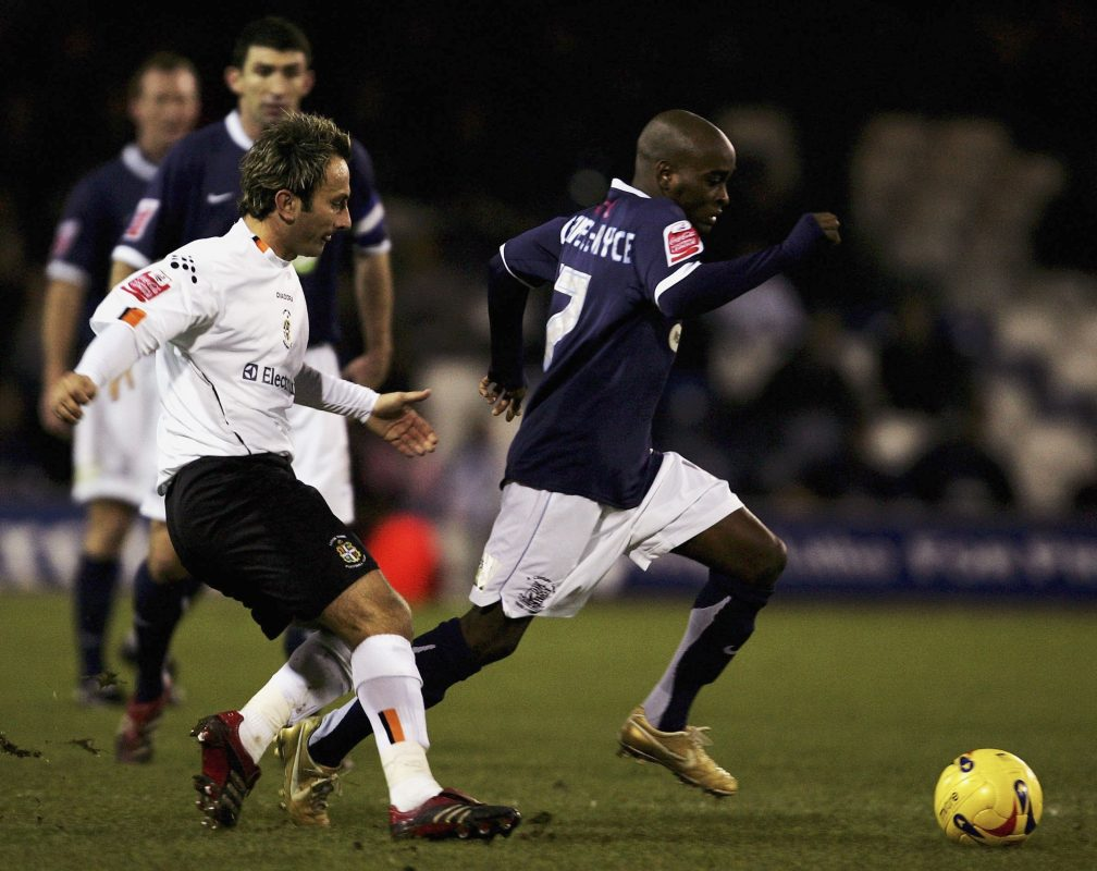Jamal Campbell-Ryce in action for Southend United