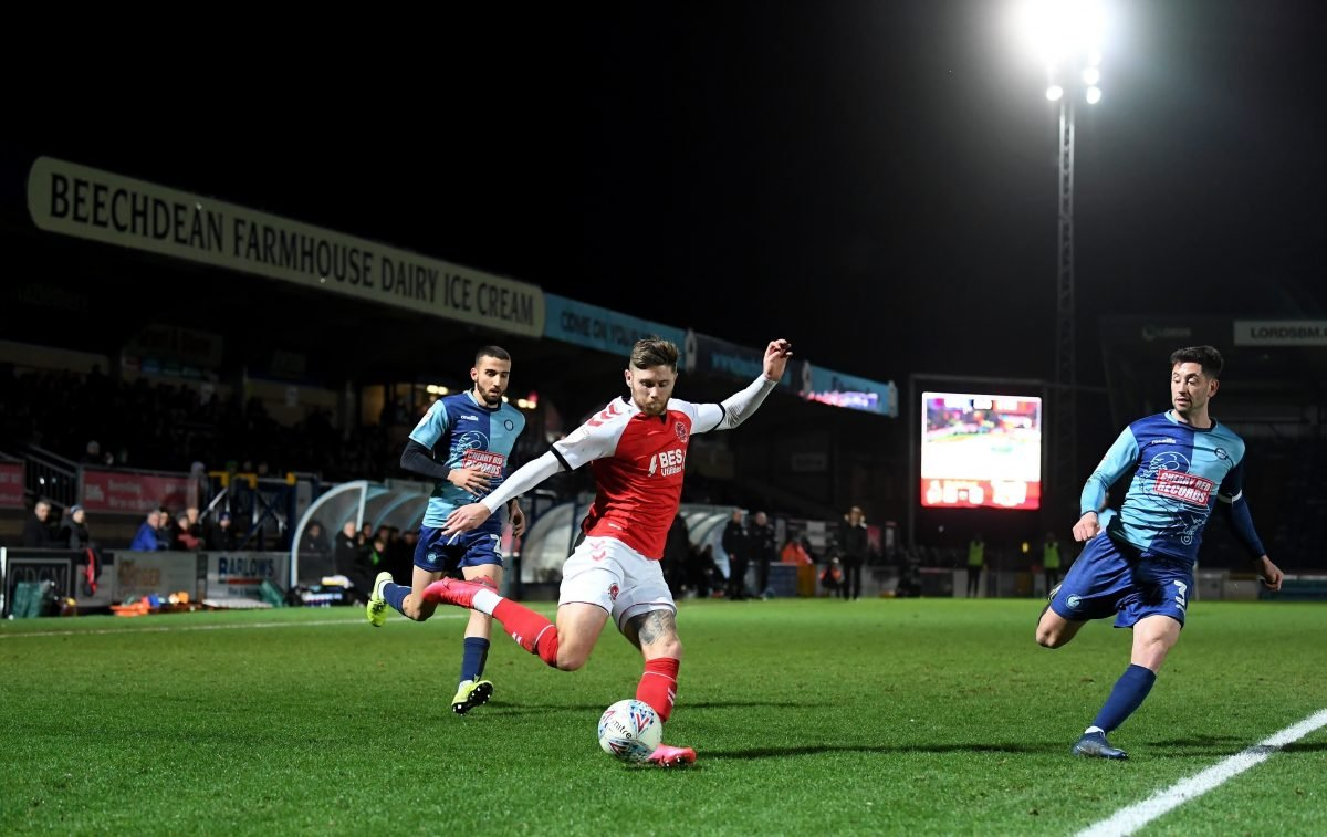 Wycombe Wanderers v Fleetwood Town play-offs